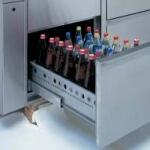 Flaschenkühlmöbel